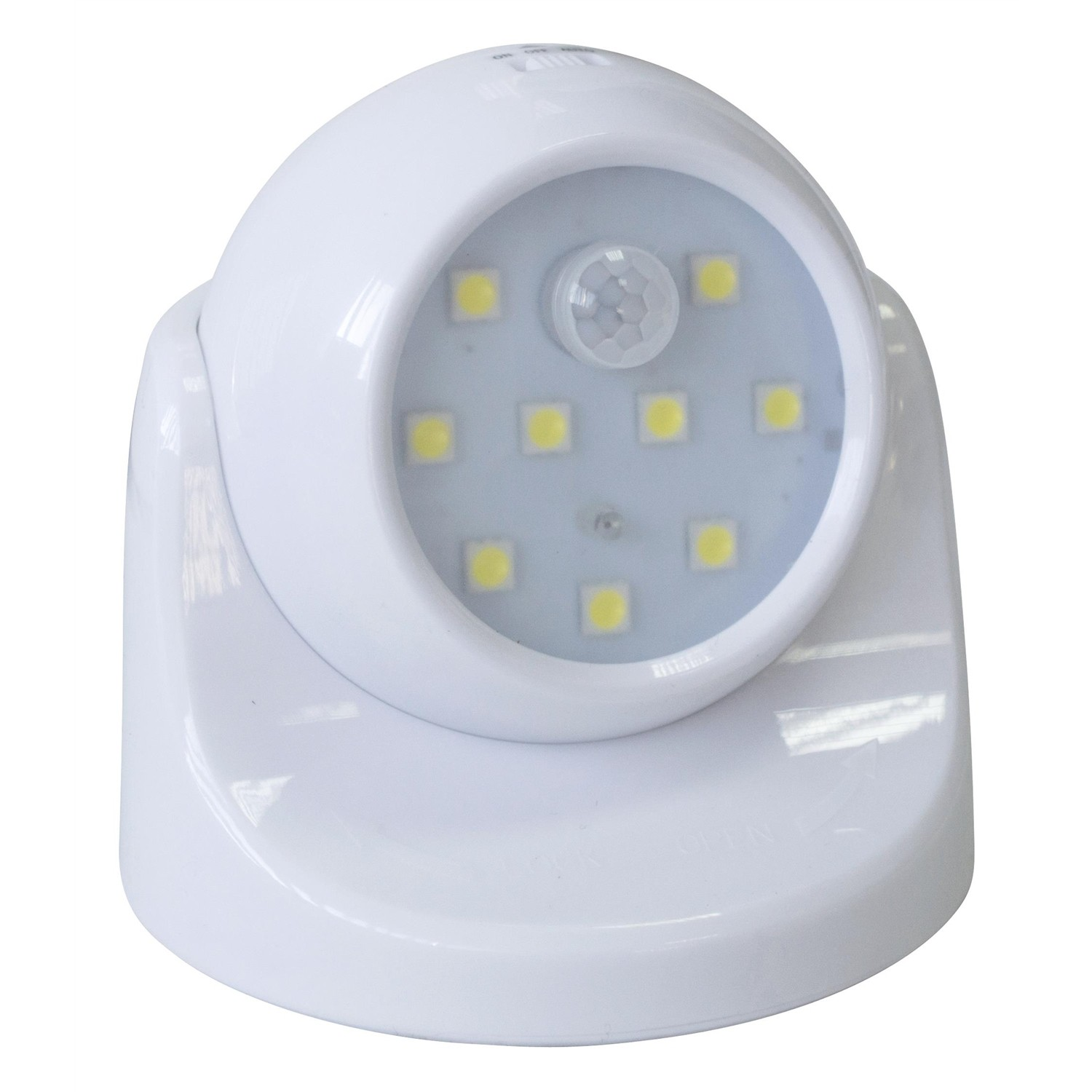 Rolson 61788 Smd Wireless Motion Sensor Light