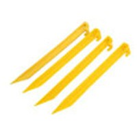 Toolzone 6pc Plastic Tent Peg Set