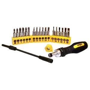 rolson 28294 21pc precision ratchet screwdriver set. Black Bedroom Furniture Sets. Home Design Ideas