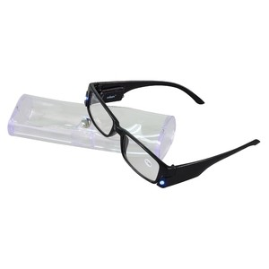 rolson 60129 reading glasses with 2 led lights