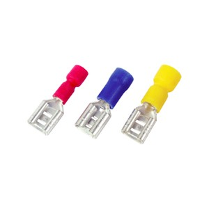 Toolzone 40pc Red-Blue-Yellow Female Terminals