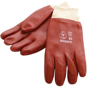 Am-Tech Red PVC Gloves