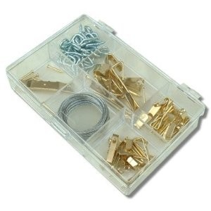 Toolzone 86pc Picture Hanging Kit