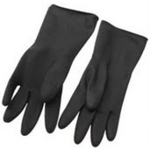 Green Jem Industrial Rubber Gloves