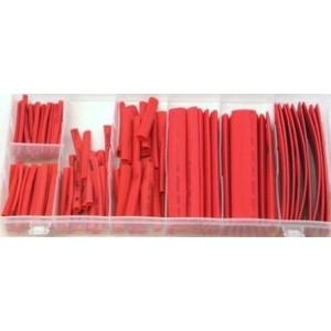 Toolzone 127pc Heat Shrink Wire Wrap Red
