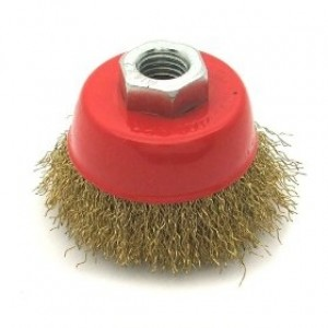 Toolzone 65mm Crimp Wire Cup Brush M14