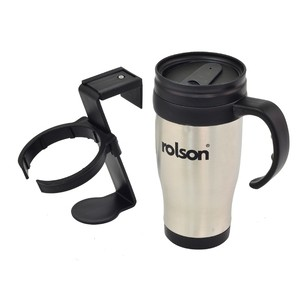 Rolson Stainless Steel Travel Mug