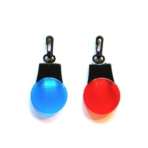 Mean Machine Fix 'n' Flash Blue and Red LED Lights 2pc