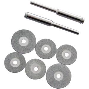 Toolzone 6pc Diamond Cutting Disc Set
