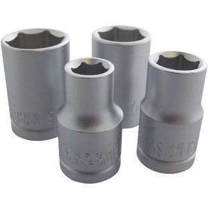 Am-Tech 4pc 1/2 Drive Socket Set