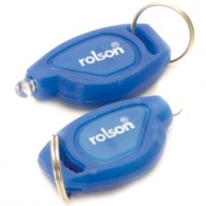 Rolson LED Key Ring 2pc