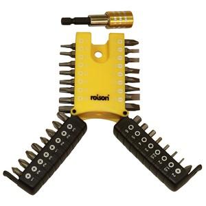 Rolson 33pc Screwdriver Bit Set and Quick Release Adaptor