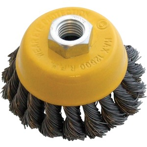 Am-Tech Twist Knot Wire Cup Brush