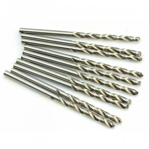 Toolzone 10pc HSS High Speed Steel Drill Bits