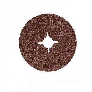 Silverline 10pc 36 Grit, 125 x 22.2 mm Fibre Discs