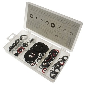 Toolzone 125pc Tap Ring, Washer & O Ring Assortment