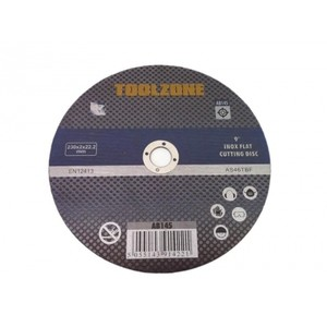 "Toolzone 5pc 9"" Stainless Steel Cutting Disc"