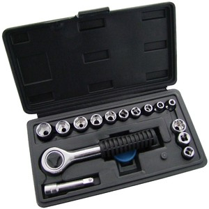 Am-Tech 16pc 1/4Inch Drive Socket Set