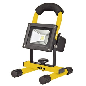 rolson 61802 10w led rechargeable work light. Black Bedroom Furniture Sets. Home Design Ideas