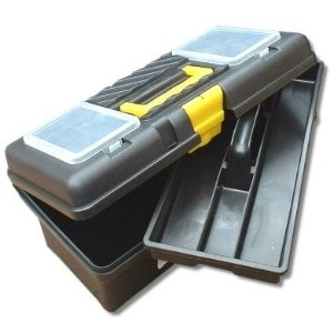 Toolzone Heavy Duty Plastic Toolbox 500mm