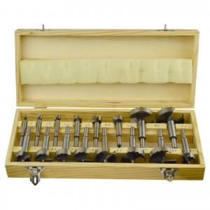 Toolzone 16pc Forstner Bit Set
