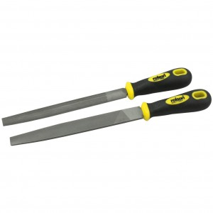 Rolson 2pc 150mm File Set