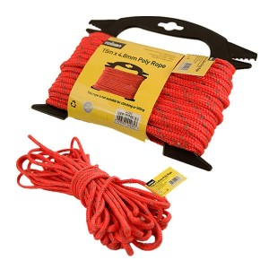 Rolson Poly Rope 15m x 4.8mm