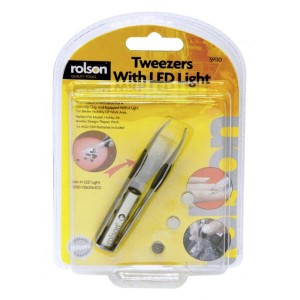 Rolson Tweezers With LED Light