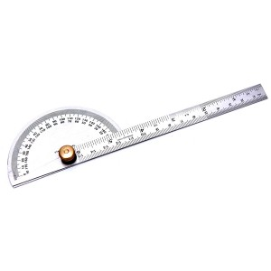 Rolson Stainless Steel Protractor