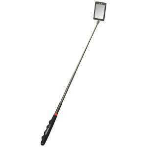 Rolson 2 LED Telescopic Inspection Mirror 42mm x 65mm