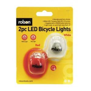 2pc Silicone Bike Light