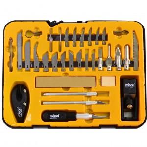 Rolson 36pc Hobby Craft Knife Set