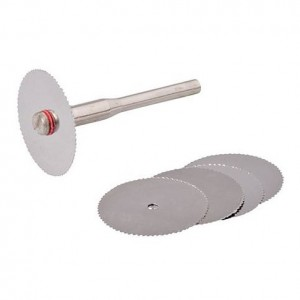 Silverline 5pc Steel Cutting Disc