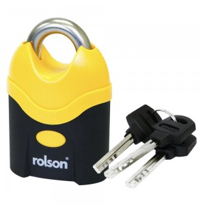 Rolson 70mm Steel Security Padlock