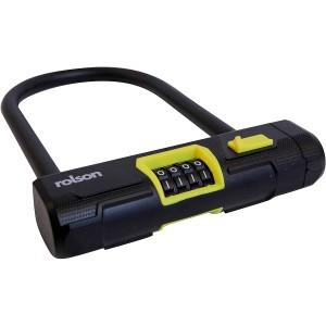 Rolson D-Shackle Combination Lock