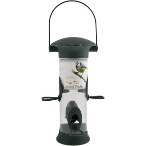 GREEN JEM SEED FLIP TOP FEEDER