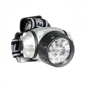 Green Jem 7 LED Head Light