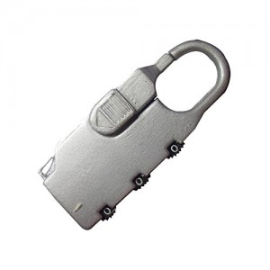 Green Jem Luggage Combination Lock Square
