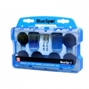Blue Spot 85pc Cut-Off Wheel Accessory Set