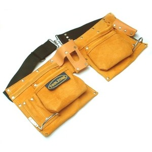Toolzone Leather Double Tool Pouch