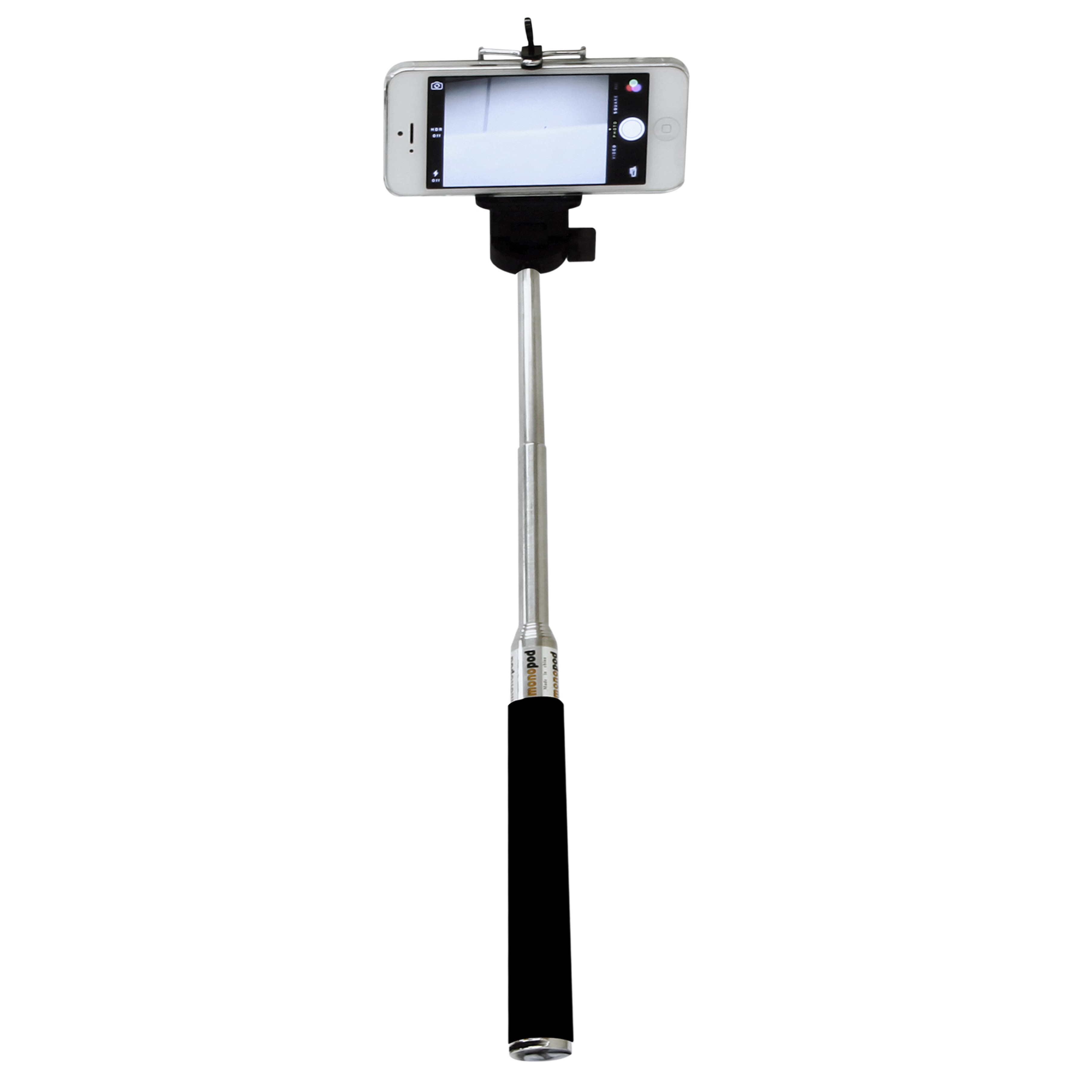 rolson 43016 telescopic selfie stick with remote. Black Bedroom Furniture Sets. Home Design Ideas
