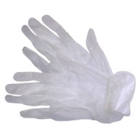 Rolson 10pc Latex Gloves Large
