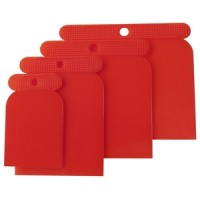 Am-Tech 4pc Body Filler Spatulas Plastic