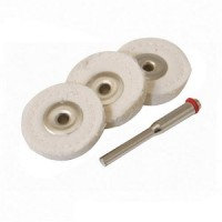 Silverline 3pc Buffing Wheel 25mm