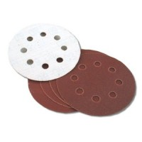 Toolzone 5pc 125mm Velcro Pex Discs