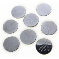 Toolzone 8Pc 3V Lithium Button Cell Battery