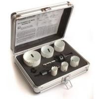 Toolzone 9pc Plumbers HSS Bimetal Holesaw