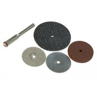 Silverline 4pc Cutting Disc Set