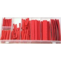 Toolzone 127pc Heat Shrink Wire Wrap Red