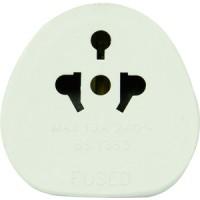 Rolson Tourist Plug Adaptor